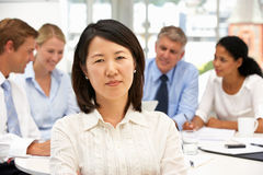 Recruitment office meeting Stock Images
