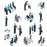 Recruitment Process Set Royalty Free Stock Photo