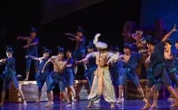 "Recruitment of seafarers -Dance drama ""The Dream of Maritime Silk Road"" Stock Photo"
