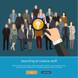 Recruitment or selection concept Stock Photos