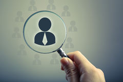 Recruitment Or Selection Concept Stock Photography