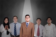 Recruitmentm in Business Concept stock image