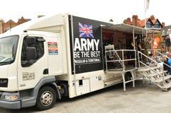 Recrutamento do exército Foto de Stock