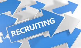 recrutement Images stock