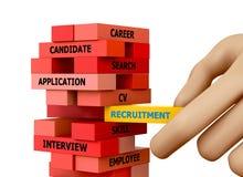 recrutement Image stock