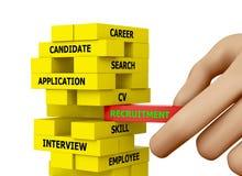 recrutement Image libre de droits