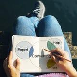 Recrutement consultant Venn Diagram Photo libre de droits