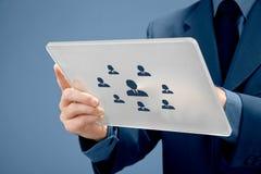 Recrutement de ressources humaines Images stock