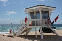 Recsue Life Guard Royalty Free Stock Images