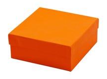 Rectángulo anaranjado Foto de archivo