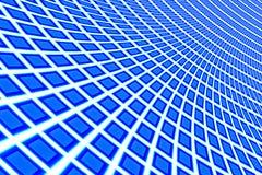 Rectángulo azul y blanco del fondo Fotografía de archivo