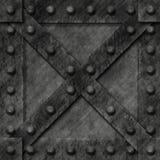 Rectángulo bloqueado fuerte del metal Fotos de archivo libres de regalías