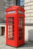 Rectángulo británico del teléfono Foto de archivo