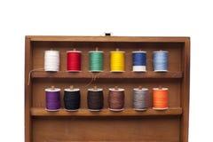 Rectángulo con las cuerdas de rosca Imagen de archivo libre de regalías