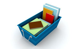 Rectángulo de almacenaje Imagen de archivo libre de regalías