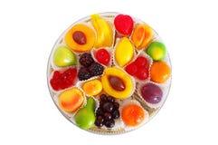 Rectángulo de caramelos de la mermelada Imagen de archivo