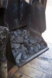 Rectángulo de carbón Imagen de archivo