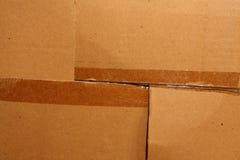 Rectángulo de CardBox Imagenes de archivo
