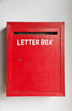 Rectángulo de carta Imágenes de archivo libres de regalías