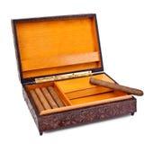 Rectángulo de cigarro fotos de archivo