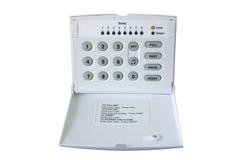 Rectángulo de control de la alarma fotografía de archivo libre de regalías