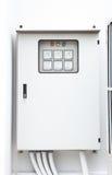 Rectángulo de control eléctrico Imagen de archivo