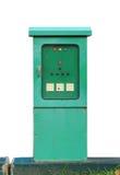 Rectángulo de control eléctrico Imagenes de archivo