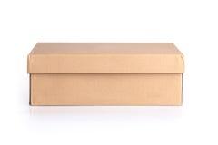 Rectángulo de empaquetado de papel Imagen de archivo libre de regalías