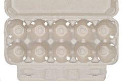 Rectángulo de huevos Foto de archivo