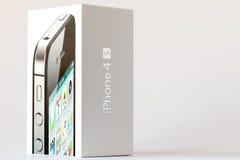 Rectángulo de IPhone 4S Imágenes de archivo libres de regalías