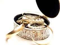 Rectángulo de Jewelery Fotos de archivo