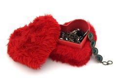 Rectángulo de joyería Foto de archivo libre de regalías