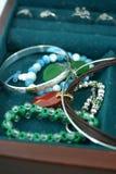 Rectángulo de joyería Foto de archivo