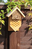 Rectángulo de la casa del insecto Foto de archivo libre de regalías