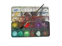 Rectángulo de la gama de colores de color imagen de archivo libre de regalías