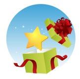 Rectángulo de la Navidad Foto de archivo libre de regalías