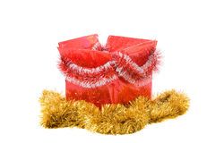 Rectángulo de la Navidad Imagenes de archivo