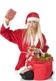 Rectángulo de la Navidad de Tha Fotos de archivo libres de regalías