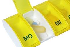 Rectángulo de la píldora Imagenes de archivo