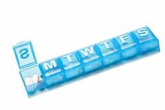 Rectángulo de la píldora Fotografía de archivo libre de regalías