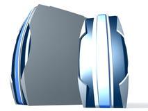 Rectángulo de la PC dos Fotografía de archivo libre de regalías