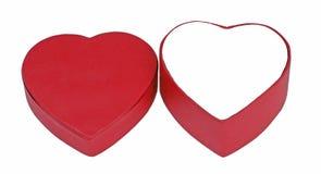 Rectángulo de la tarjeta del día de San Valentín Imagen de archivo libre de regalías