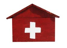 Rectángulo de los primeros auxilios Fotografía de archivo libre de regalías