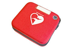 Rectángulo de los primeros auxilios, rectángulo de seguridad Fotos de archivo