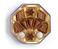 Rectángulo de los sweeties del chocolate de diversas dimensiones de una variable Fotos de archivo
