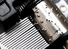 Rectángulo de música fotografía de archivo