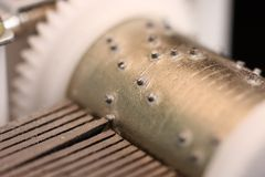Rectángulo de música Imagenes de archivo