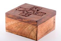 Rectángulo de madera Fotos de archivo