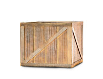 Rectángulo de madera Fotografía de archivo