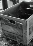 Rectángulo de madera antiguo Fotografía de archivo